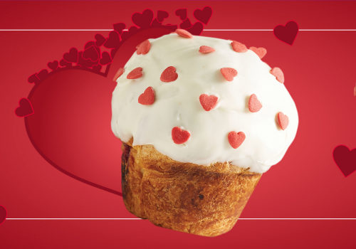 The Love Duffin is at Muffin Break!