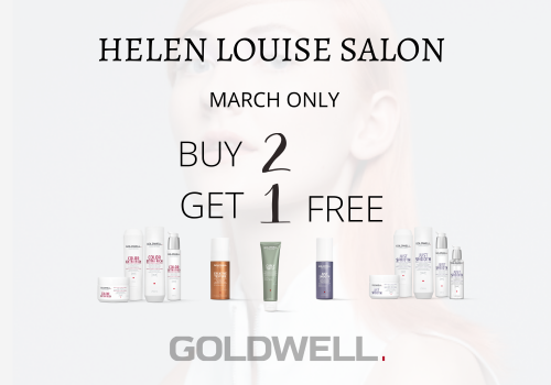 Buy 2 Goldwell Products Get 1 Free